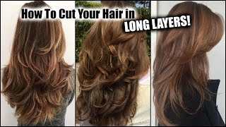 Download HOW I CUT MY HAIR AT HOME IN LONG LAYERS! │ Long Layered Haircut DIY at Home! │Updated! Mp3 and Videos