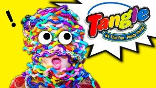 ASSISTANT Tangle Challenge With Tongue Twisters and Wiggles Funny Video