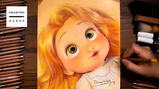 Drawing Baby Rapunzel [Drawing Hands]