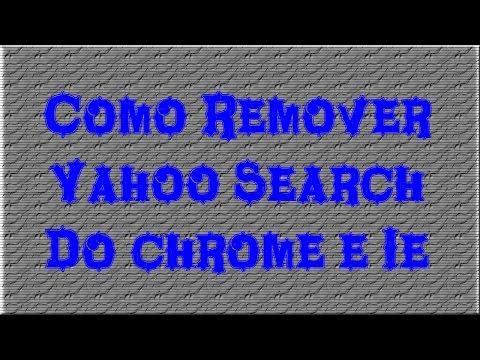 Como Remover Yahoo Search do Chrome e IE