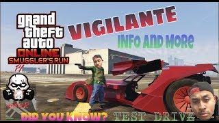 "GTA 5 Online| BATMOBILE GAMEPLAY! UNRELEASED ""Vigilante"" TEST DRIVE ! OMGG UNLIMITED BOOST!!"