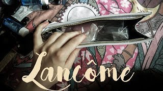 Lancôme Only! unwrapping luxury cosmetic bags