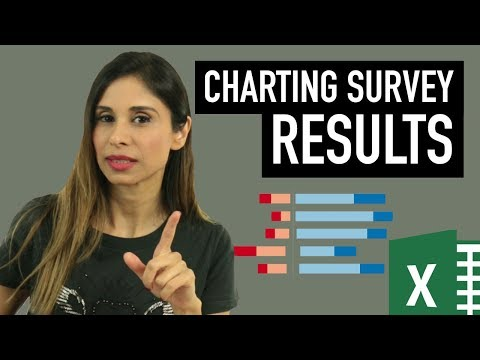 Charting Survey Results in Excel (Visualize Employee Satisfaction results)