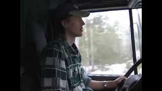 Путешествие с дальнобойщиками. 2 эпизод