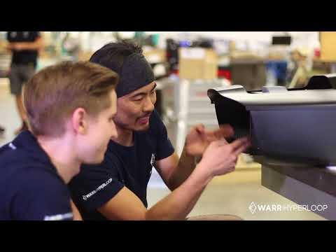 WARR Hyperloop Pod III - Making Of