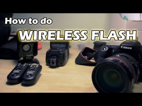 How To Set Up Wireless Flash Photography