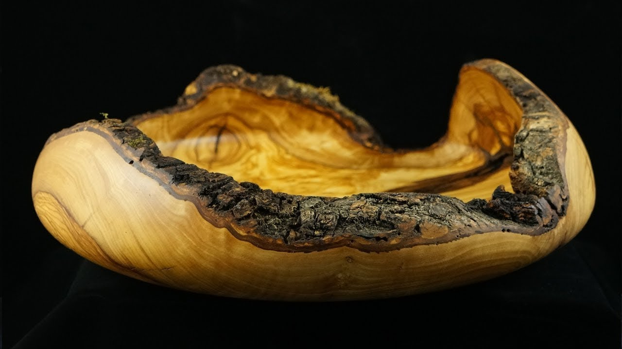 Woodturning Fruit Bowl