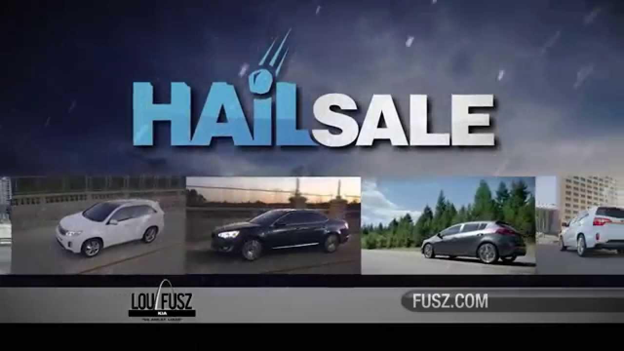Apr 14 Hail Sale Lou Fusz Kia Youtube