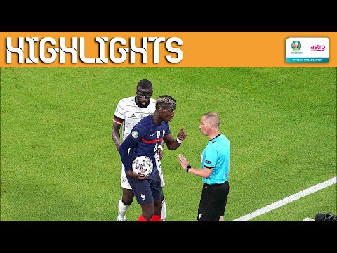 France 1 - 0 Germany | EURO 2020 Highlights | Astro SuperSpo