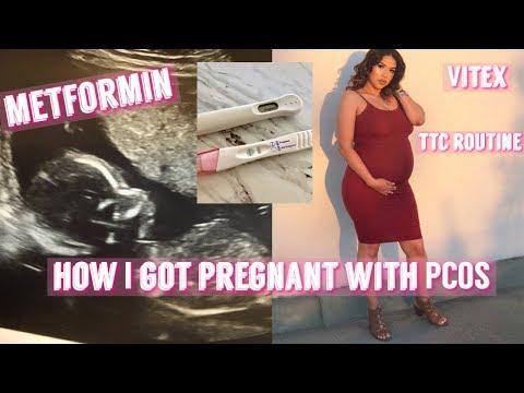 how-i-got-pregnant-with-pcos- -pcos-ttc-routine- -pcos-pregnancy-success