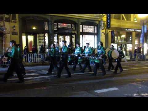 San Francisco Chinese New Year Parade 2018 Sacred Heart Cathedral Preparatory Irish Marching Band