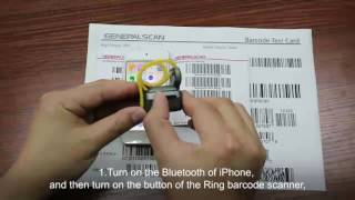 Generalscan Ring Barcode Scanner Series Using Introduction