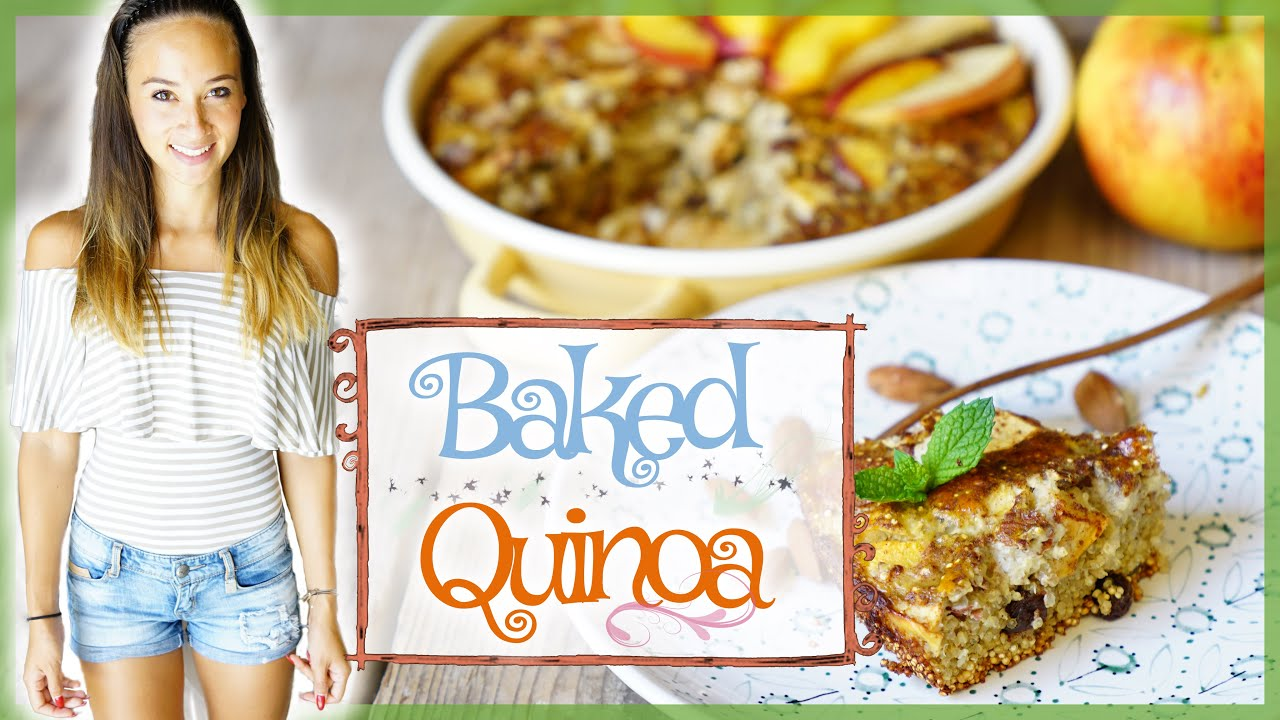 Gesunde Snackidee Kuchen Backen Zum Abnehmen Quinoa Rezept