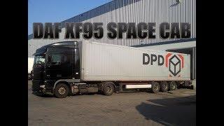 DAF XF95 na linii kurierskiej DPD