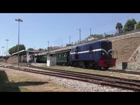 Tren histórico Aveiro-Macinhata do Vouga. Comboio Histórico na Linha do Vouga