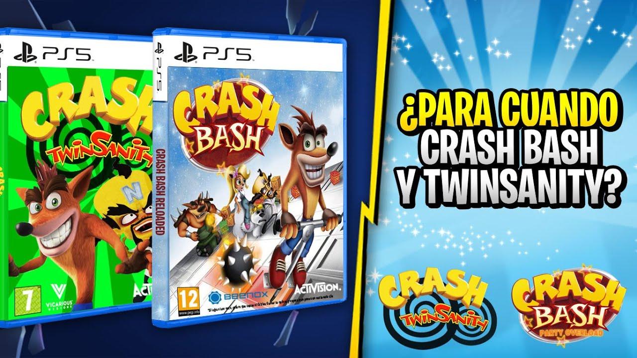 PARA CUANDO CRASH BASH Y CRASH TWINSANITY | QUE PASA CON CRASH BANDICOOT 4 ITS ABOUT TIME