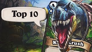 Top 10 COOLEST Legendary Cards in Hearthstone!