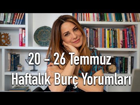 20 - 26 Temmuz Haftalık Burç Yorumları - Hande Kazanova ile Astroloji