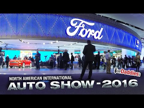 2016 North American International Auto Show With Ford #fordnaias NAIAS 2016