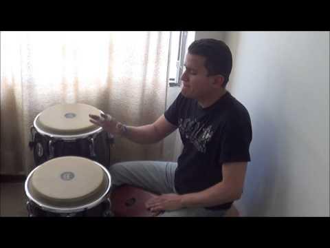 Cover Samba Pa Ti - Santana- Conga Tumbadora Y Bongo De Madera