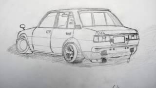 Toyota Corolla D R A W I N G