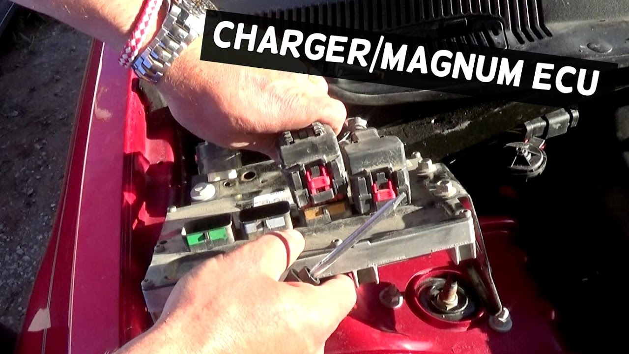 Dodge Charger Police Wiring Diagram How To Replace Ecu Computer Magnum Youtube