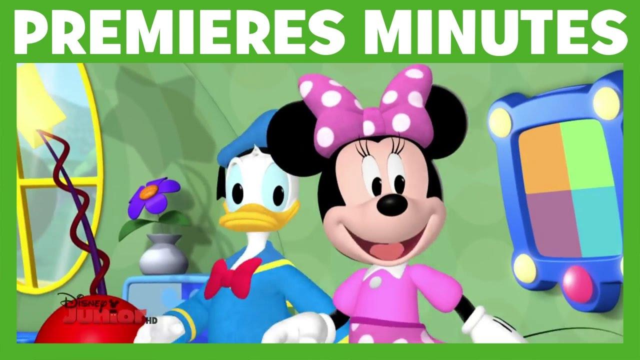 La Maison De Mickey Le Sous Marin De Mickey Premieres Minutes Youtube