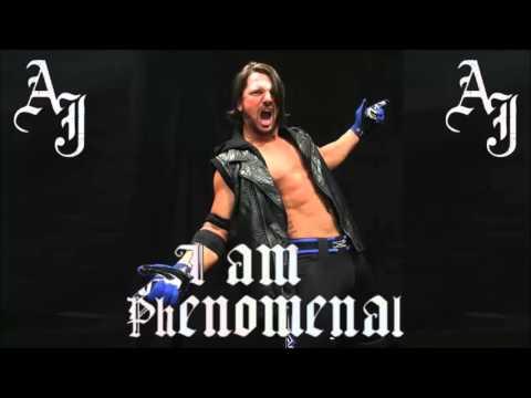 (ARENA EFFECTS) - AJ Styles' 1st WWE Theme -