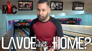 Lavoe live from.... Home?  (Monday Night Mic)