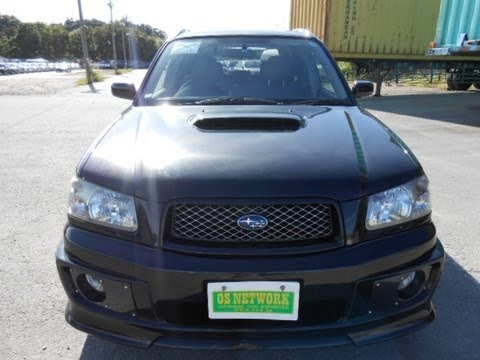 Stock No2194 Subaru Forester Cross Sports 2004 Youtube