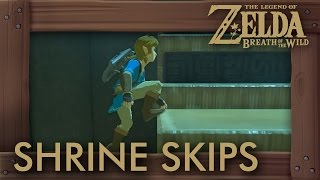 Zelda Breath of the Wild - Shrine Skip Compilation #1 (Speedrun Tricks)