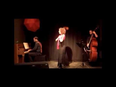 "Irini Konstantinidi ""Singing the LOVE affair"" at Zp87 - short clip"