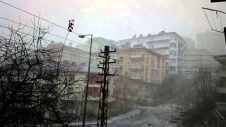 2015.12.02 Çankaya Ankarada Yılın İlk Kar Yağışı!