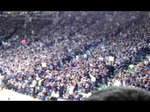 Sandstorm at Bramlage Coliseum 2/14/11 KSU v KU