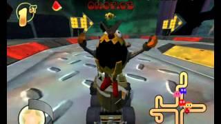 Pac-Man World Rally {PC Version} Playthrough-Part 10-Watermelon Cup{Hard Mode}.wmv