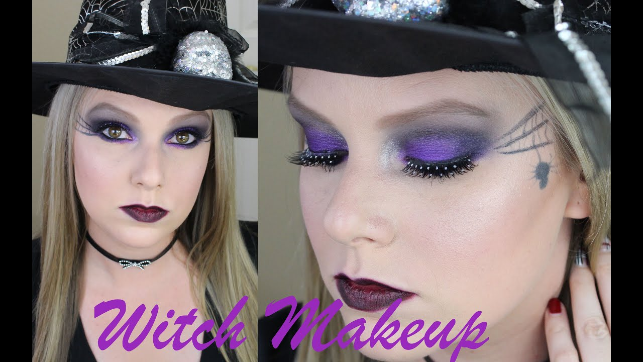 Witch Makeup Tutorial Halloween Makeup Youtube