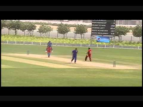 Dion Stovell Boundaries, ICC Cricket vs Nambia, April 2011