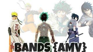 Naruto , Sasuke & Deku {AMV} - Bands By Comethazine \Anime India {AMVs}