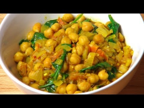 Slow Oven Chickpea Curry
