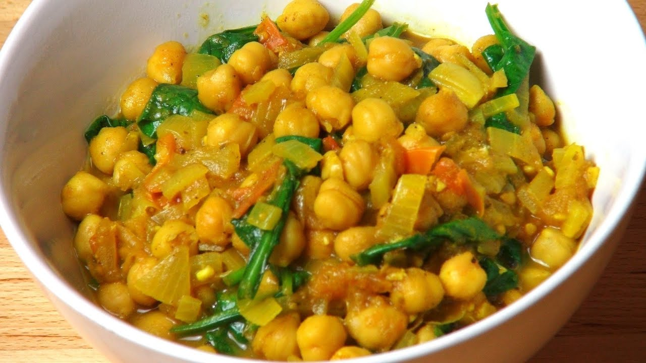 Chickpea Curry - RECIPE - YouTube