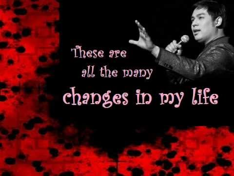 Changes in my Life - Jed Madela [Lyrics]