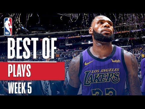NBA's Best Plays | Week 5