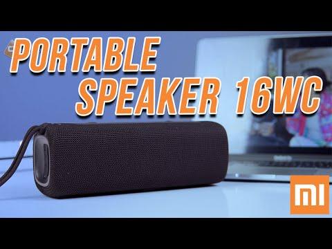 Loa Bluetooth Di Động Mi Portable Speaker 16W - 2 Loa Chất Âm Mạnh Mẽ, Đẹp, Bền và Rất Rẻ