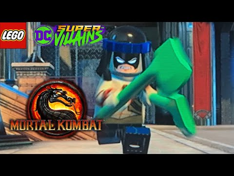 I'm Back!! How To Make Night Wolf in LEGO DC Super Villians |