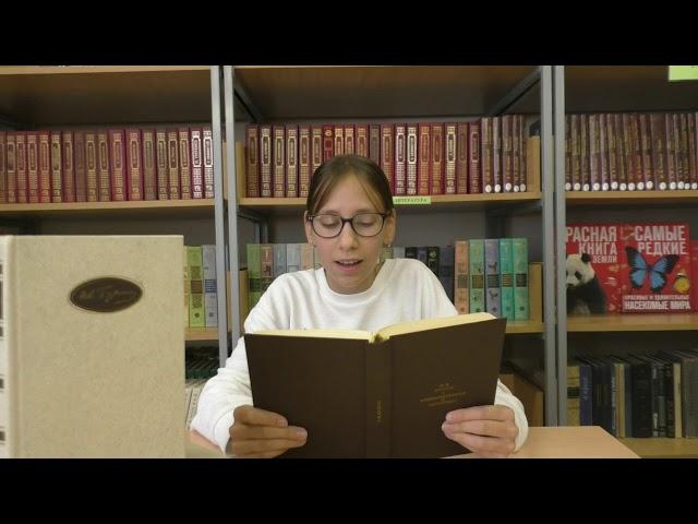 Видяшева Полина читает произведение «Матери» (Бунин Иван Алексеевич)