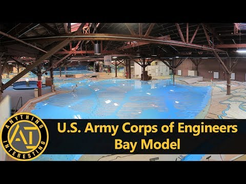 U.S. Army Corps Of Engineers Bay Model | Anything Interesting Ep. 5