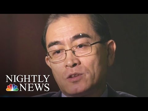 I'm A Marked Man, North Korean Defector Tells Lester Holt | NBC Nightly News