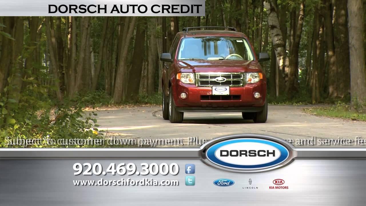 Dorsch Auto Credit Green Bay Can Help
