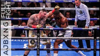 Full Fight | Anthony Joshua Vs Andy Ruiz (1) L