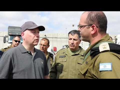 Jason Greenblatt tours the Gaza area